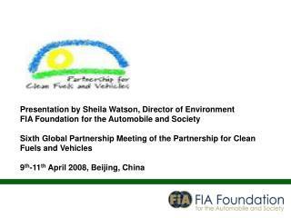Presentation by Sheila Watson, Director of Environment