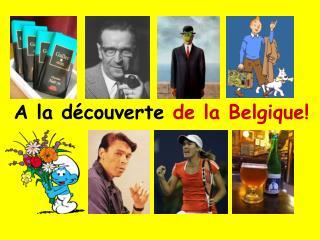 A la d � couverte  de la Belgique!