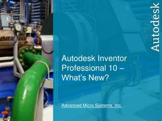 Advanced Micro Systems, Inc.