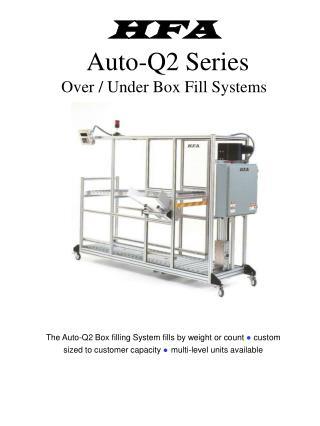 HFA Auto-Q2 Series Over / Under Box Fill Systems