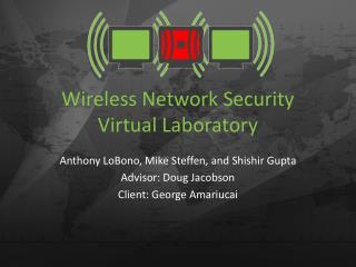 Wireless Network Security Virtual Laboratory