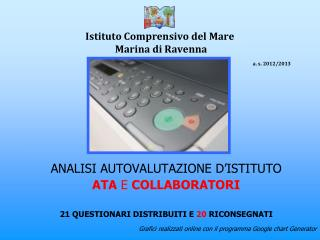 Istituto Comprensivo del Mare  Marina di Ravenna a. s. 2012/2013