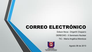 CORREO ELECTR�NICO