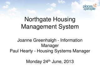 PFP and Northgate Journey