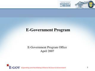 E-Government Program