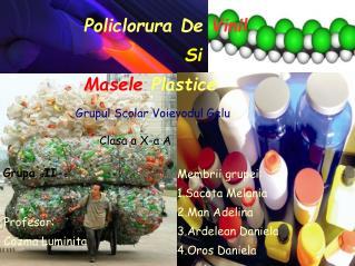 Policlorura De  Vinil Si  Masele  Plastice