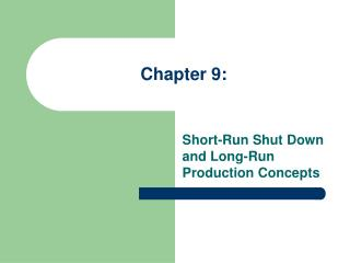Chapter 9: