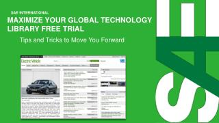 Maximize Your Global technology library free trial