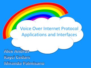 Voice Over Internet Protocol  Applications and Interfaces