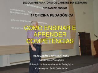 ESCOLA PREPARATÓRIA DE CADETES DO EXÉRCITO DIVISÃO DE ENSINO