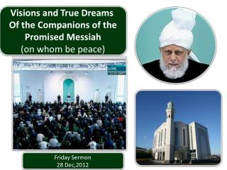 Friday Sermon 28 Dec,2012