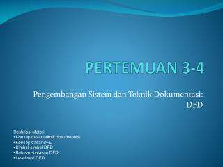 PERTEMUAN 3-4
