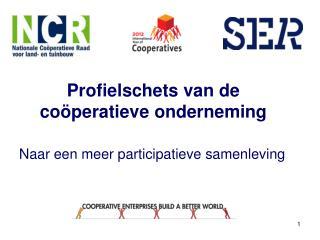Profielschets van de coöperatieve onderneming