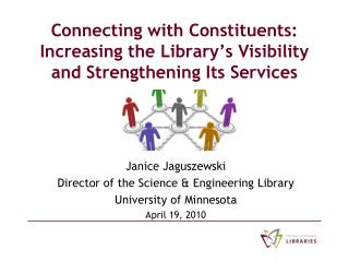 Connecting with Constituents: Increasing the Library's Visibility and Strengthening Its Services