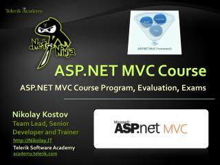 ASP.NET MVC Course