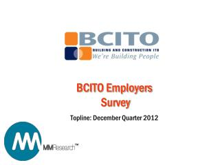 BCITO Employers  Survey