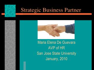 Strategic Business Partner