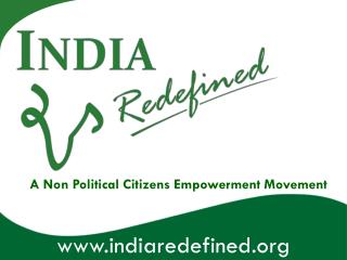 A Non Political Citizens Empowerment Movement