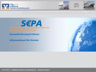 Neuerungen im Zahlungsverkehr für Deutschland und Europa Herausforderung & Chance