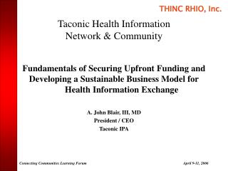 Taconic Health Information Network  Community