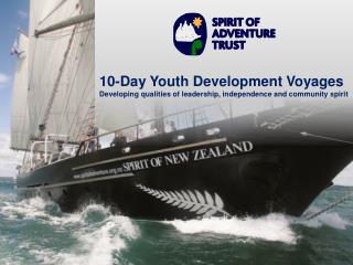 10-Day Youth Development Voyages