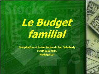 Le Budget familial