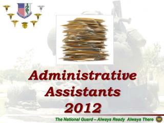 Administrative Assistants 2012
