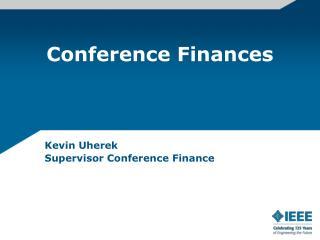 Conference Finances