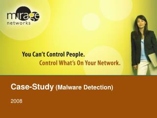 Case-Study  (Malware Detection)