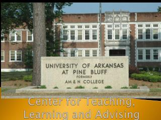 Center for Teaching, Learning and Advising