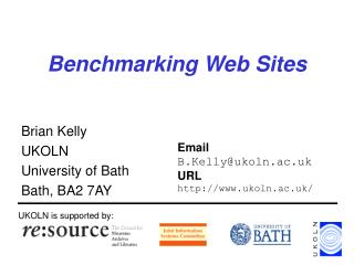 Benchmarking Web Sites