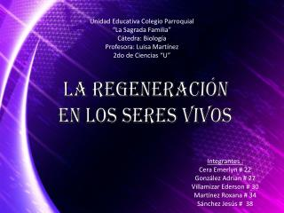 Integrantes : Cera Emerlyn # 22  González Adrian # 27 Villamizar Ederson # 30