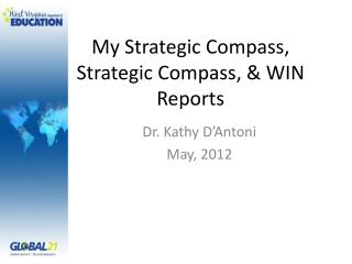 My Strategic Compass, Strategic Compass, & WIN Reports