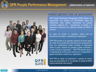 QPR People Performance Management