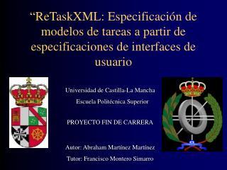 Universidad de Castilla-La Mancha    Escuela Politécnica Superior