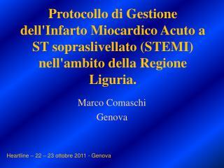 Marco Comaschi Genova