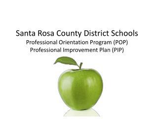 SRCDS: Professional Orientation Program (POP)