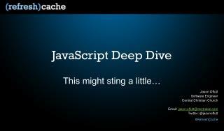 JavaScript Deep Dive