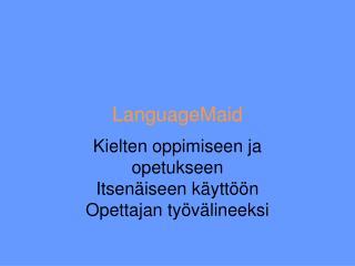 LanguageMaid