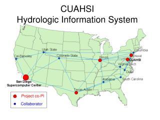 CUAHSI  Hydrologic Information System