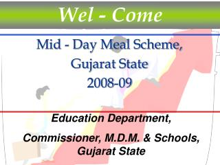 Mid - Day Meal Scheme,  Gujarat State 2008-09