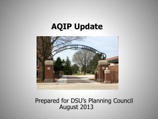 AQIP Update
