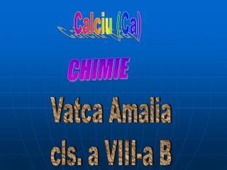 Calciu (Ca)