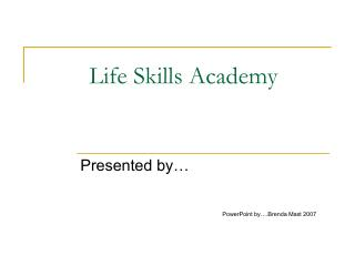 Life Skills Academy
