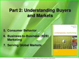Part 2: Understanding Buyers and Markets