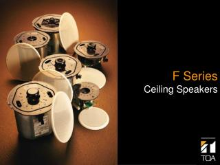 F Series Ceiling Speakers