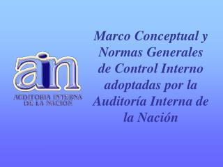 Rol de la A.I.N. NAIGU-NTCI- Superintendencia Nacional de Auditoría Interna