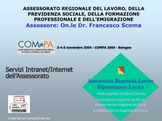 Unit� Servizi Intranet/Internet