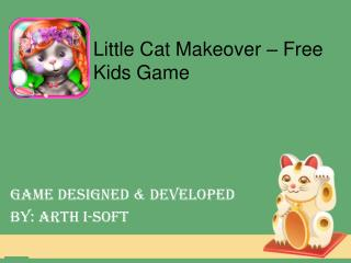 Little Cat Makeover - Free kids game