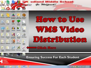 How to Use WMS Video Distribution